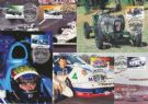 Australia Maximum Cards: APMX 205 Centenary of Motor Racing in Australia and New Zealand set of 6